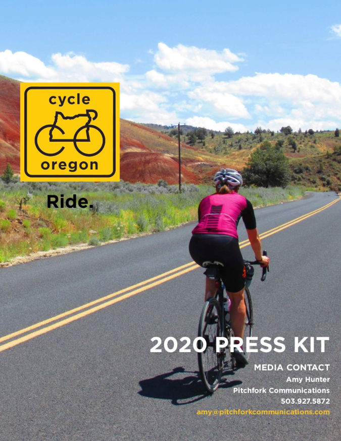 Cycle Oregon 2020 Press Kit